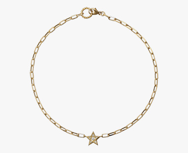 DIAMOND STAR ANKLET, , medium