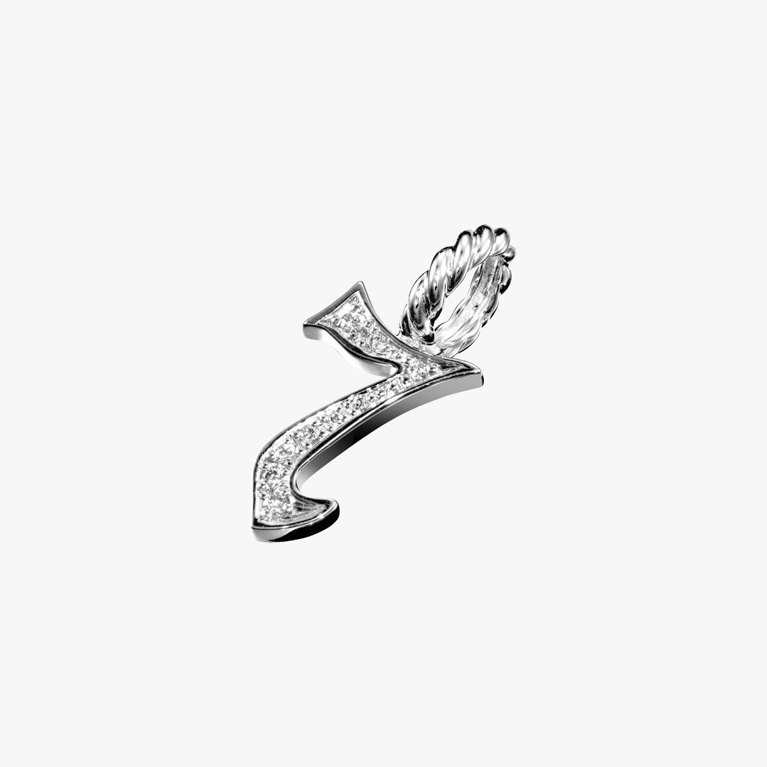DIAMOND NUMBER CHARM(7), , large
