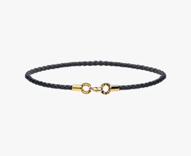 DIAMOND LEATHER ANKLET, , medium