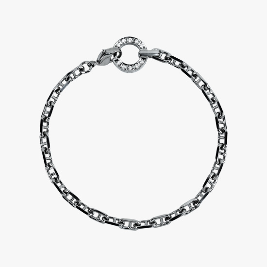 DIAMOND CHAIN BRACELET, , small