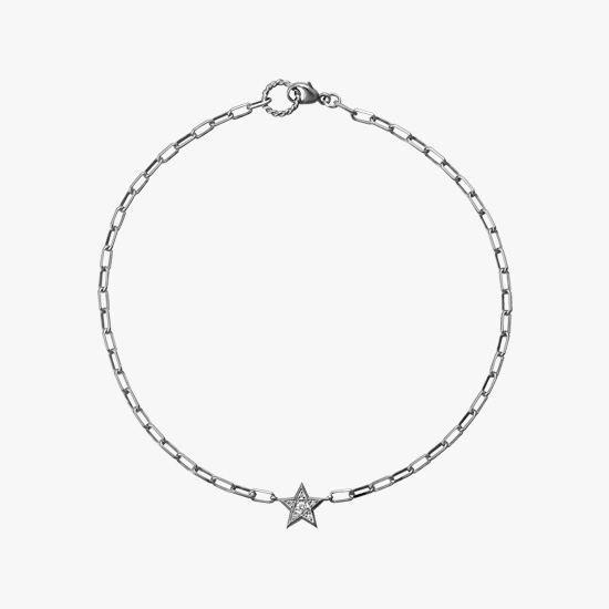 DIAMOND STAR ANKLET, , small