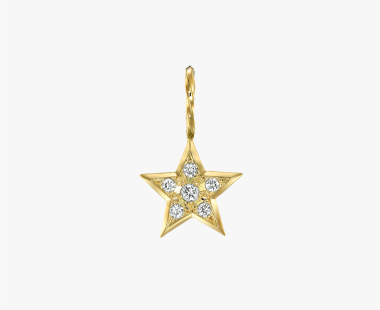 【SJX W】DIAMOND STAR CHARM, , medium