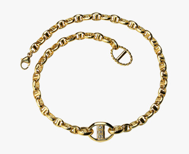 ANCHOR CHAIN ANKLET, , medium