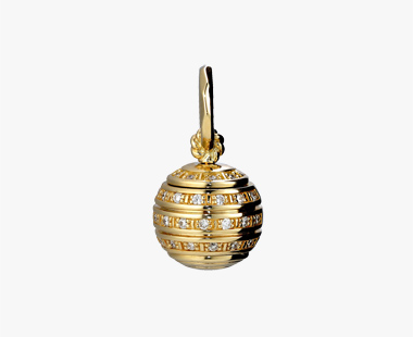 DIAMOND SPHERE SPIN CHARM, , medium