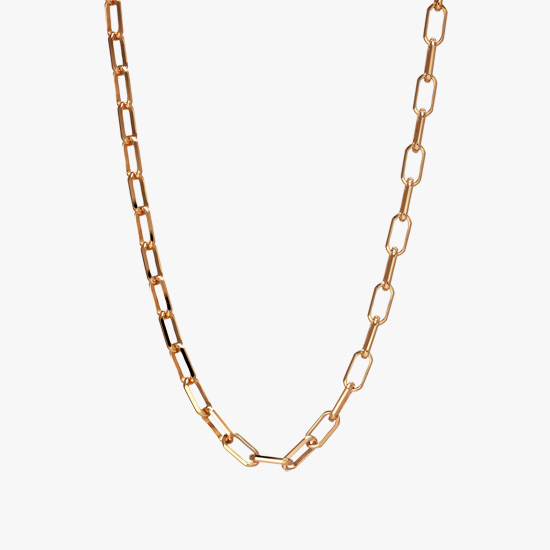 PINK GOLD CHAIN 50cm, , small