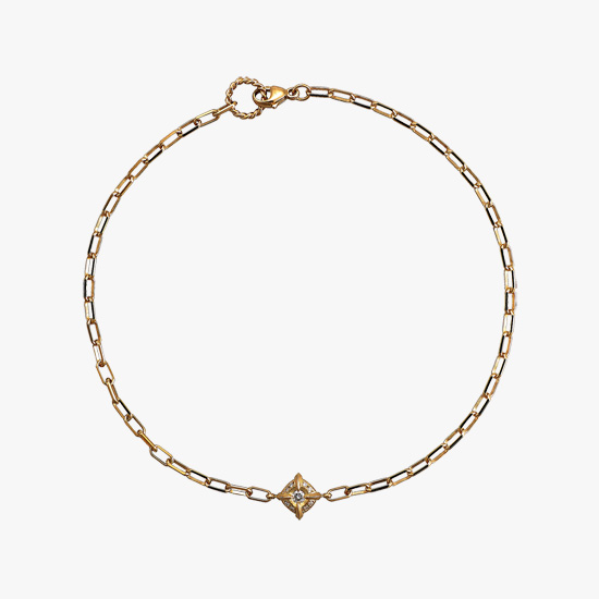 DIAMOND ANKLET, , small