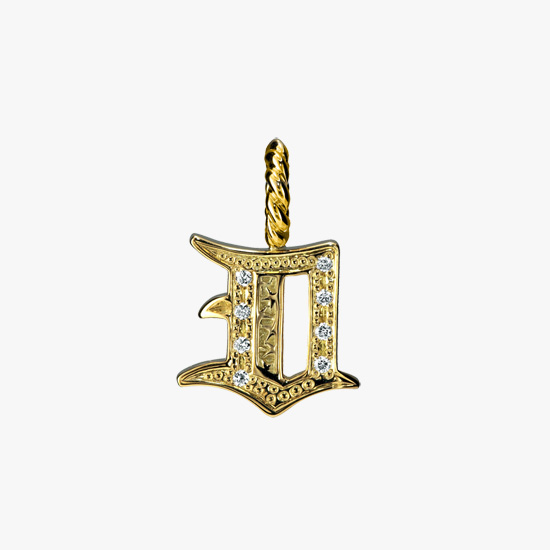 INITIAL CHARM (D), , small