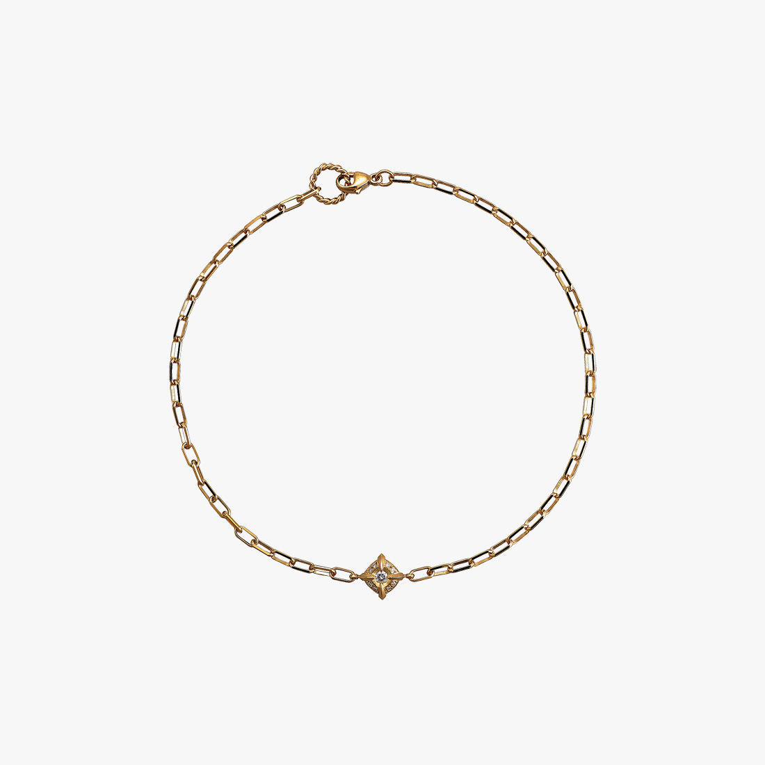DIAMOND ANKLET, , large